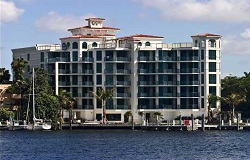 Photo of Beacon Harbour luxury waterfront condo in Coconut Grove Florida