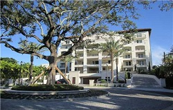 Photo of Residences At Vizcaya luxury waterfront condo in Coconut Grove Florida