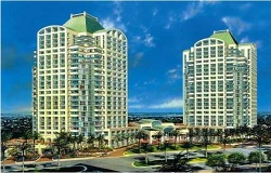 Photo of Ritz-Carlton luxury waterfront condo in Coconut Grove Florida