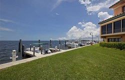 Photo of waterfront townhome in Coconut Grove Florida