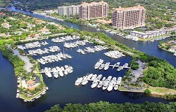 Photo of Waterfront Condos in Coral Gables Florida