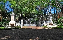 Photo of DeGarmo Estates Gated Community in Coconut Grove Florida