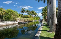 Photo of Entrada Estates Gated Waterfront Community in Coconut Grove Florida