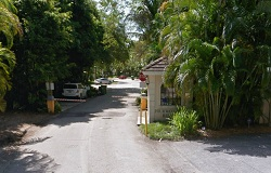 Photo of Four Way Lodge Estates Gated Waterfront Community in Coconut Grove Florida