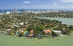 Photo of La Gorce Island homes in Miami Beach FL