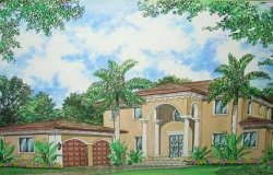 Photo of New Construction Home in South Miami Florida