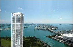 Photo of Ten Museum Park Waterfront Condo in Downtown Miami FL
