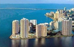 Photo of Three Tequesta Point Waterfront Condo in Brickell Key Miami FL