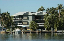 Photo of Bellavista waterfront townhouses in Coconut Grove Florida