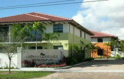 Photo of Grove Enclave townhouses in Coconut Grove Florida