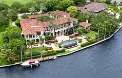 Photo of Waterfront Home in Miami Florida